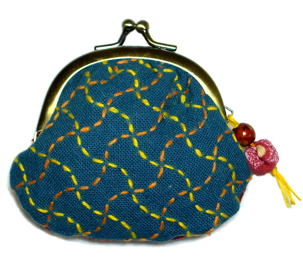 Tiny coin purse - front view