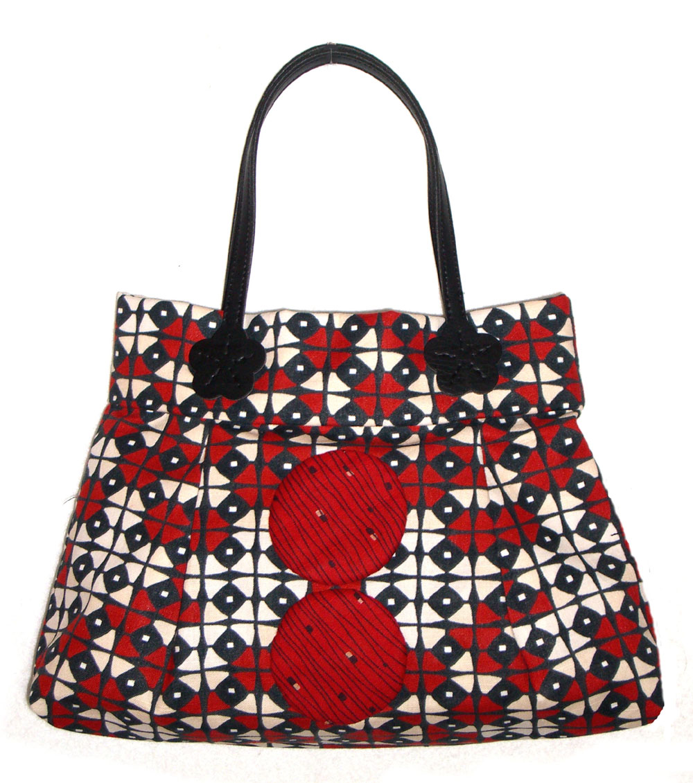 Marble-o-us komachi purse  red