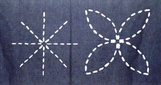 Sashiko Stitching - Right & Wrong Open Intersections